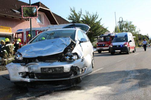 Fahrzeugbergung nach Verkehrsunfall am 05.08.2017