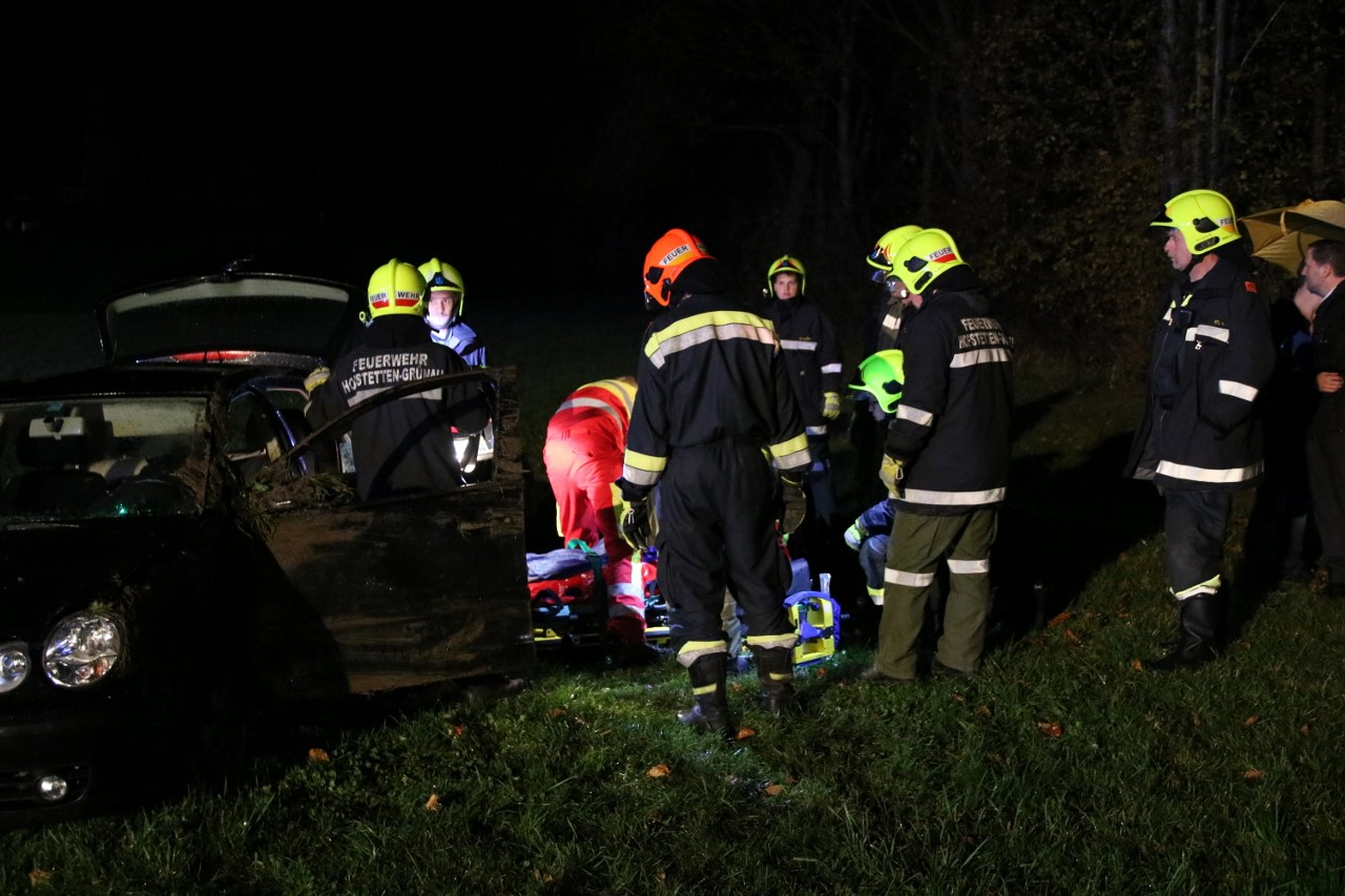 Person in Notlage nach Verkehrsunfall am 11.11.2017